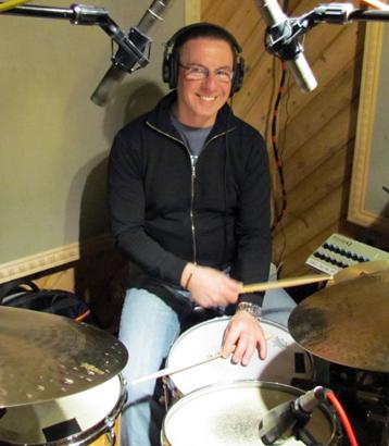 Vince Cherico, drums